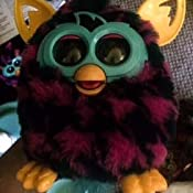 Amazon.com: Furby Boom (Purple Houndstooth): Toys & Games