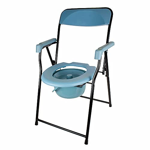 Mobiclinic, Timón, Silla con WC o inodoro para discapacitados, ancianos, minusválidos, Plegable,...