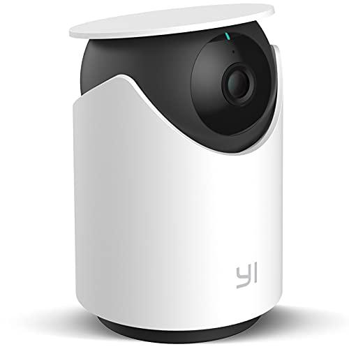 Überwachungskamera WLAN 1080p,YI Dome U Kamera Indoor mit Infrarot-Nachtsicht,Künstlicher Intelligenz Menshlche Erkennung,Bewegungserkennung 2-Wege-Audio,die mit Alexa funktioniert