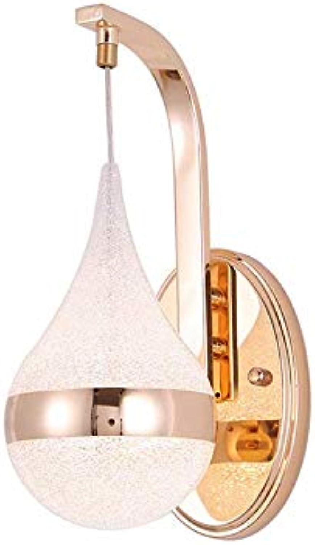 Chuen Lung Mode LED Schmiedeeisen Hohl Wassertropfen Lichterkette, Hausgarten Decor Batterie Lichter Bühne Ambiente Lampe