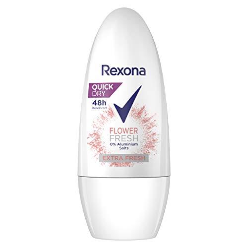 Rexona Deo Roll-On Flower Fresh ohne Aluminiumsalze 6x50 ml, 300 ml