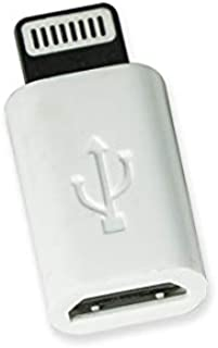 VisionTek Micro USB to Lightning Adapter White, 3 Pack - 900816