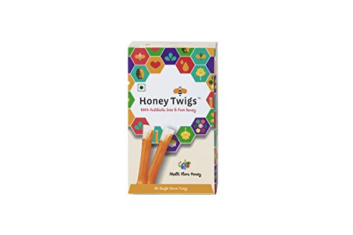 Honey Twigs Multiflora Honey/ Pure Honey (240 Grams)