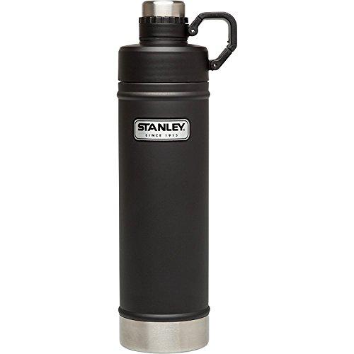 Stanley Classic Vacuum Water Bottle, Matte Black, 25 oz