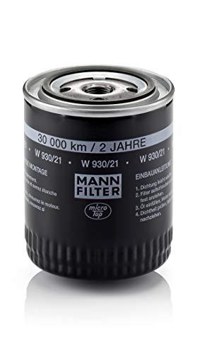 Mann Filter W93021 MANN-FILTER W 930/21 Ölfilter