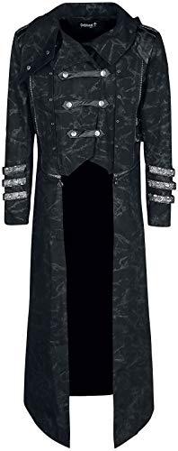 Gothicana by EMP Aenima Männer Mantel schwarz XL 97% Baumwolle, 3% Elasthan Basics, Gothic