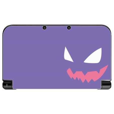 Purple Anime Ghost New 3DS XL 2015 Vinyl Decal Sticker Skin by Demon Decal