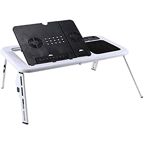 YF Laptop Stand Adjustable Multi-Function Lap Desk Bed Tray Table Portable...