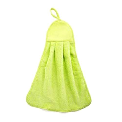 Vetbeer 100% bamboe keuken schotel doeken nieuwe ophangend koraal fluweel handdoek keuken schoonmaken handdoek Lint Absorbens Rag schotel doek schoonmaken doek Ultra absorberend beter dan katoen GR