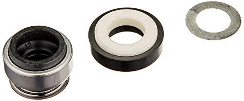 DealMux Metallfeder 12mm Innendurchmesser Gummibalg Wasserpumpe Gleitringdichtung