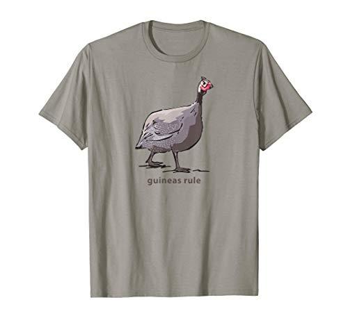 Guinea Hen Fowl Guineafowl Poultry Farm T shirt for Women