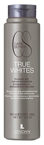 Lendan LD CS True Whites Champú Cabellos Blanco y Decolorados - 300 ml