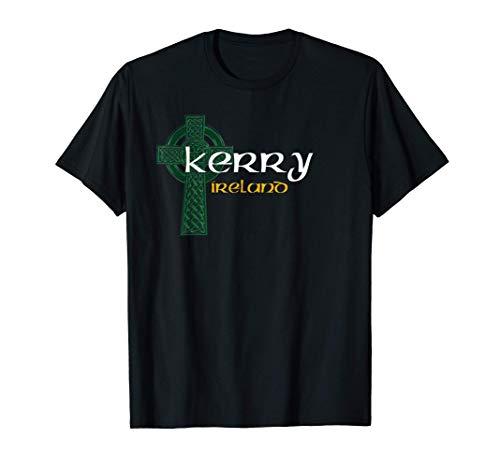Kerry Ireland County Celtic Gaelic Football and Hurling T-Shirt
