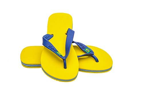 Dupé Women's Flip Flops Brasil Yellow / 39-40