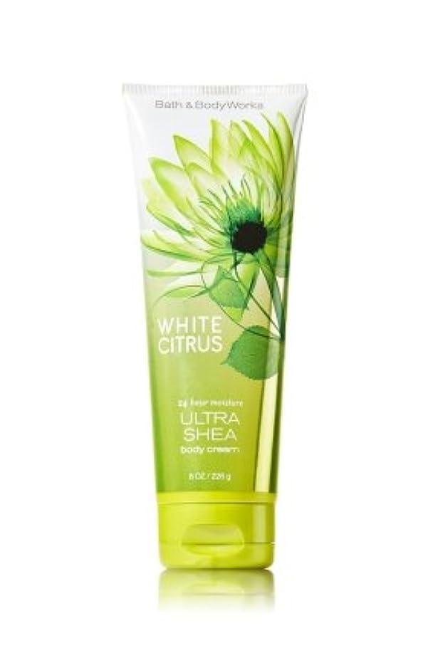 事業小競り合い動揺させるバス&ボディワークス ホワイトシトラス ボディクリーム  White Citrus Body Cream [並行輸入品]