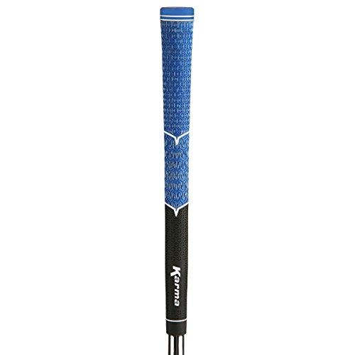 Karma V-Cord Black/Blue Standard Golf Grips