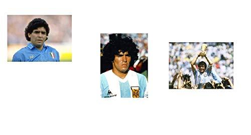 Imanes para la nevera con la cara de  Maradona