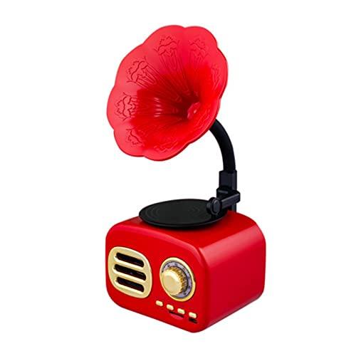Mini Altavoz Bluetooth, Altavoz De Modelado De Gramófono Inalámbrico Inteligente Retro, Reproductor De Música, Altavoz De Escritorio Portátil Con Batería De Gran Capacidad, Amplia Compatibilidad