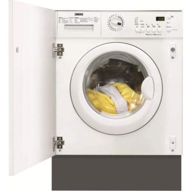 Zanussi ZWT71201WA 7kg Wash 4kg Dry 1200rpm Integrated Washer Dryer - White