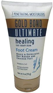 Gold Bond Ultimate Healing Foot Therapy Cream, 4 oz, 2 pk by Gold Bond