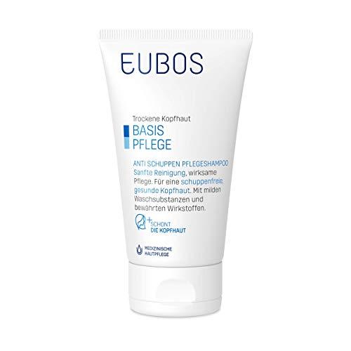 Eubos | Anti Schuppen Pflege - Shampoo | 150ml | für schuppige, trockene und irritierte Kopfhaut | Hautverträglichkeit dermatologisch bestätigt | Hergestellt in Deutschland