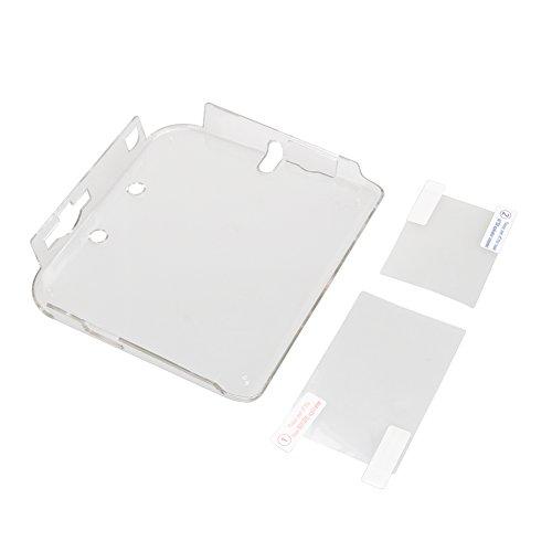 Capa Awakingdemi para Nintendo 2DS, capa protetora rígida de plástico transparente para Nintendo 2DS com filme