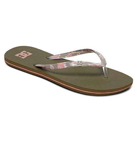 DC Shoes Spray - Flip-Flops for Women - Sandalen - Frauen - EU 38 - Grün