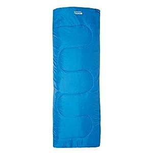 Mountain Warehouse Saco de Dormir Basecamp para Acampar tamaño Mini - 160 x 65 cm, Saco de Acampada de Cuidado fácil para niños, con Aislamiento térmico - para niños 3