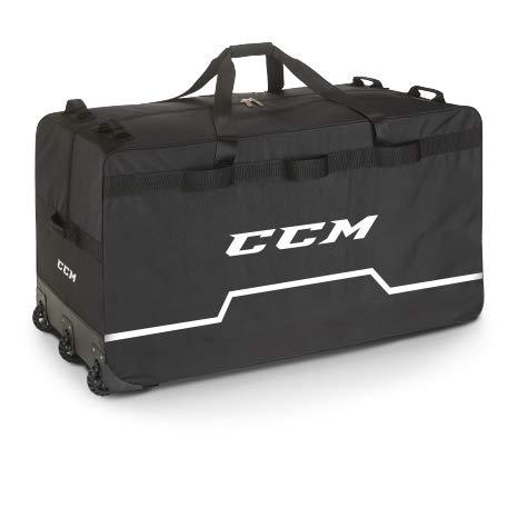 CCM PRO Wheeled Goalie Bag Large 44\', Farbe:schwarz