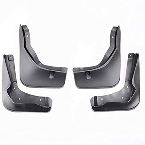 ZHFF 4 Pcs Coche ABS Salpicaduras Guardabarros, para Mercedes Benz B-Class W246 2016-2019 Auto ProteccióN Cubierta Delantero Trasero Mudguards Stylling Accesorios