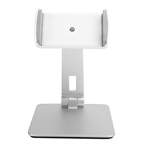 Soporte ajustable para teléfono celular Soporte para teléfonos inteligentes Soporte universal para tableta de aleación de aluminio Totalmente plegable Adecuado para teléfonos inteligentes y tabletas