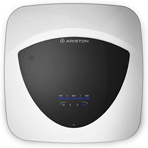 Ariston Scaldacqua Elettrico Andris Lux Eco 10 Litri [Classe di Efficienza Energetica A], 220 V, Bianco, Sottolavello