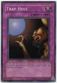 Yu-Gi-Oh! - Trap Hole  SDY-027  - Starter Deck Yugi - Unlimited Edition - Common