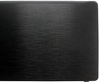 """Acer aspire F5-573 F5-573G 15.6""""LCDバックカバートップケースリアリッド用のまったく新しいラップトップシェル (Color : Black)"""