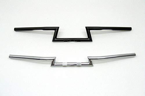 Fehling Motorrad Lenker ZBar, niedrig, 850 mm, 1 Zoll, mit Kerbe, mit ABE, chrom