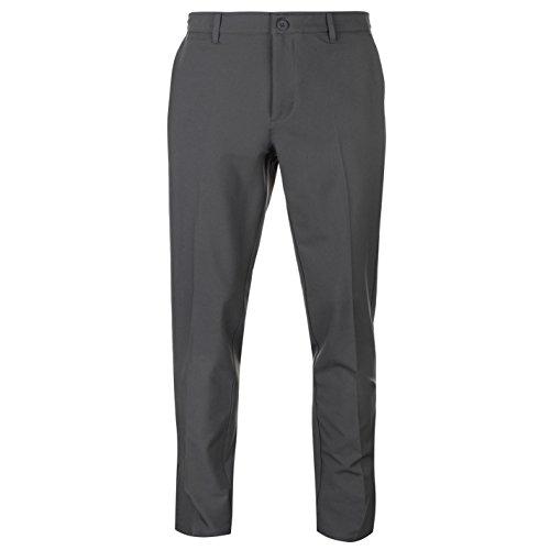 Slazenger Performance Herren Golf Hose Taschen Straight Fit Anthrazit 32W 31R