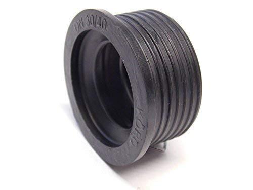 Köro Siphon Gummimanschette für Abflussrohr Aussen 40 mm, Innen 30 mm