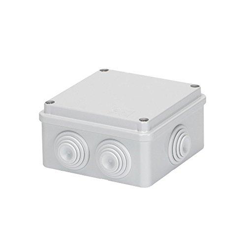 GEWISS 44004 wasmand 100 x 100 x 50 met rubber. IP55.