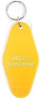 Three Potato Four Key Tag - Hello Sunshine