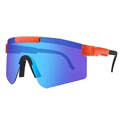MAVL Gafas de sol polarizadas para hombres y mujeres para ciclismo al aire libre, gafas de sol aviador para hombre y mujer, (color: C26)