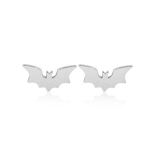 Spread Wing Bat Stud Arete lindo Batman Moda Pendientes Pendientes Accesorios Joyería