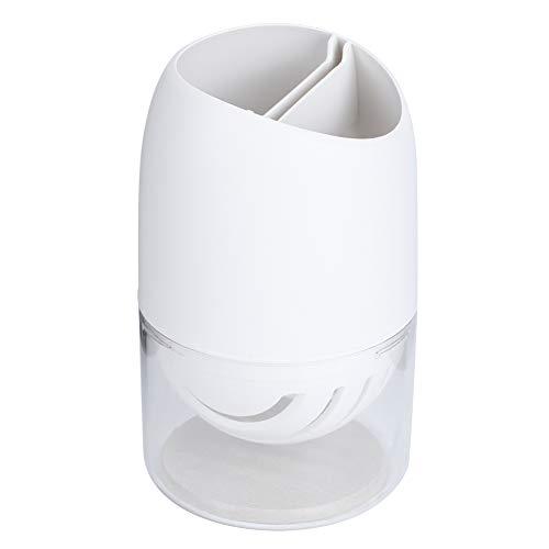 Caja de Palillos limpios, Agujeros de Drenaje con PP y cadábras de Barro de Barro Diatom (Blanco)