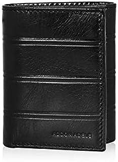 Addon Adele – Wallet for Mens, Leather Branded and Stylish   C Line Long Wallet for Men, Black Color