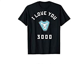 Iron Man I Love You 3000 Arc Reactor Classic T-Shirt - Ladies T-Shirt - Crewneck Sweatshirt- Hoodie - Long Sleeve - Tank, Perfect gift for your loved one