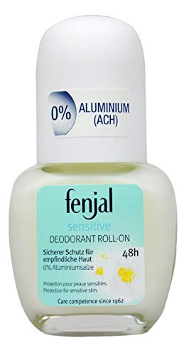 Fenjal Deo Roll-On Sensitive 48 Stunden Schutz 0% Aluminium (6 x 50 ml)
