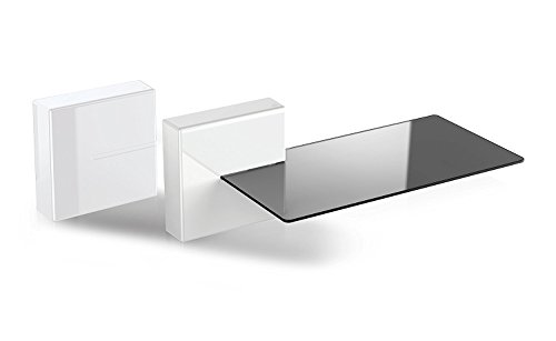 Meliconi 480522 Ghost Cubes Shelf - Sistema Modular con Soporte, Blanco