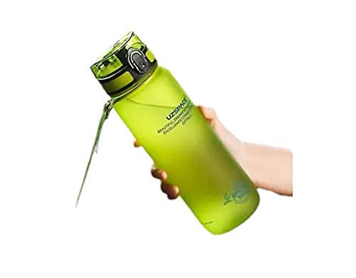 RYTR Botella de agua deportiva, botella de agua Tritan sin BPA/Taza de agua anticaída portátil-blue_500ml/deportiva para gimnasio, entrenamiento, viajes, oficina.