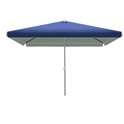 JWW Garden Umbrella Outdoor 2.5M Parasol Umbrella with Crank Handle Sunscreen UV Patio Parasol, Base Not Included, Furniture Canopy