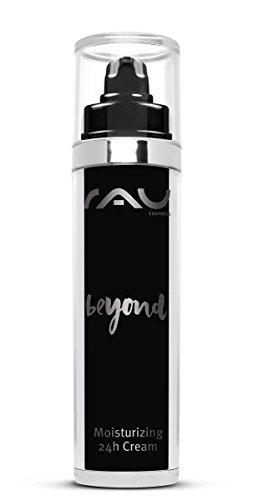 RAU beyond Moisturizing 24h Cream 50 ml - Vegane Naturkosmetik Creme für das Gesicht mit Vitamin und Kräutern