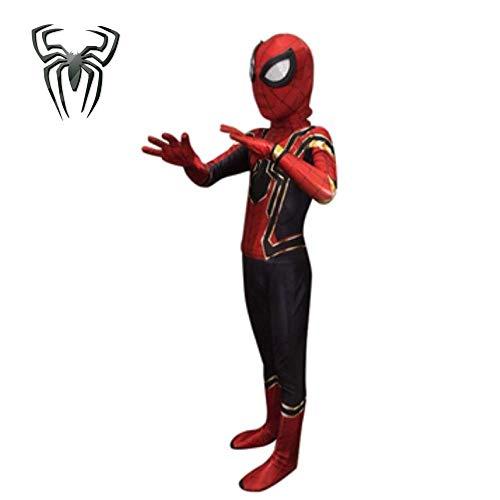 Spiderman Superheld Cosplay Kostüm Party Halloween Kostüm Kostüm Weihnachtsoverall,Child-X-Large